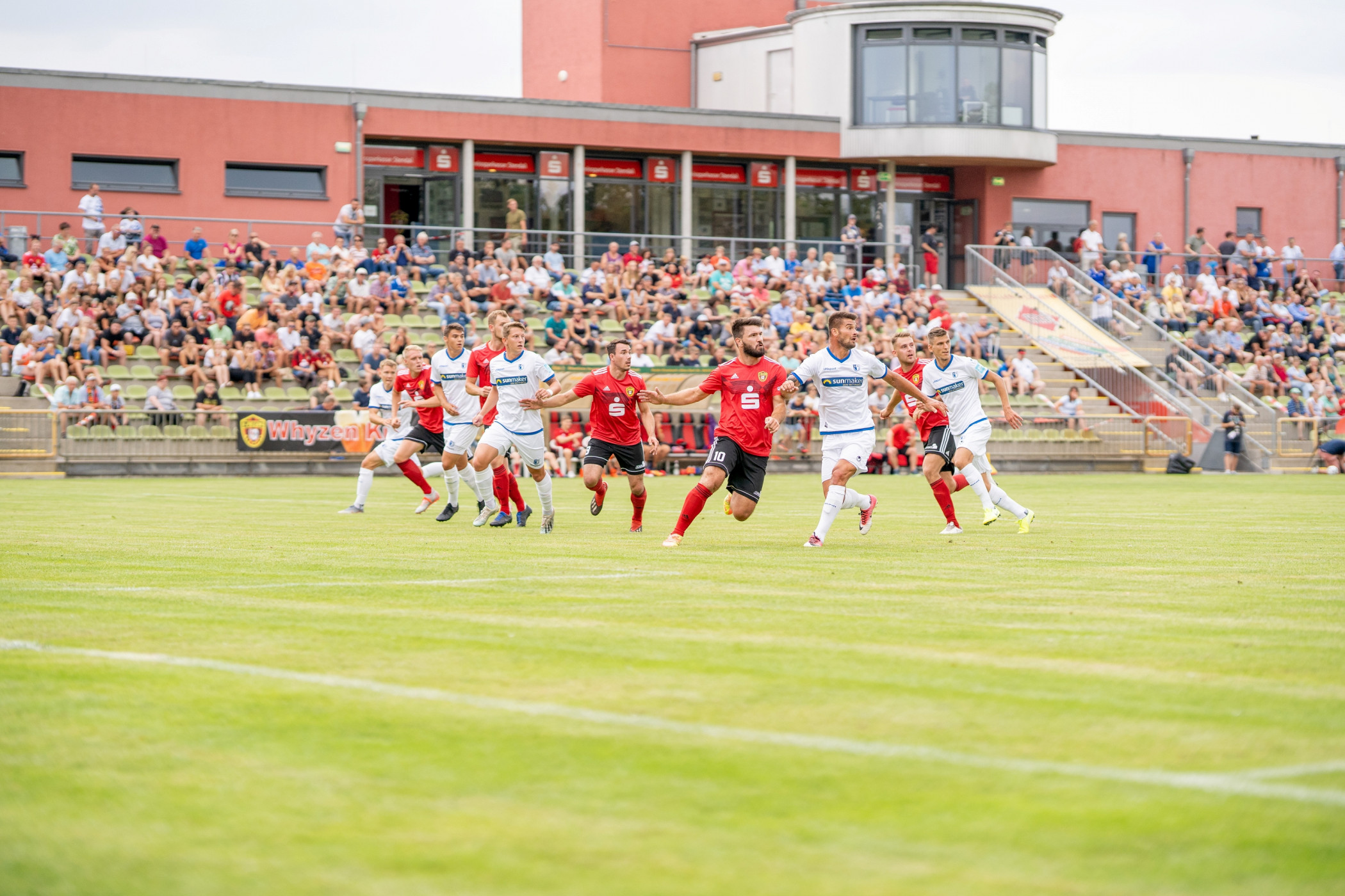 #ErsteMänner ► Test gegen 1. FCM - 1. FC Lok Stendal