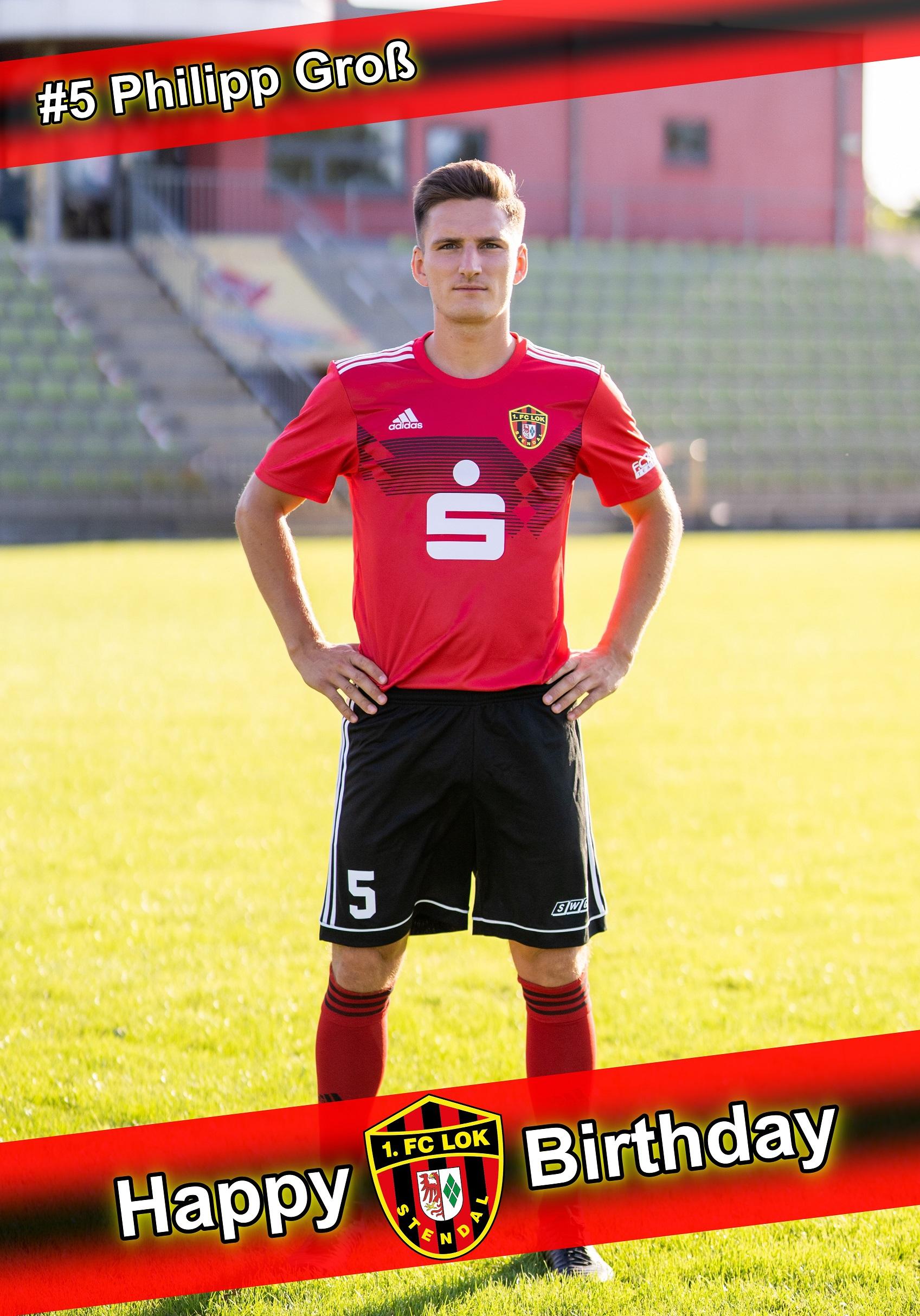 Happy Birthday Capitano - 1. FC Lok Stendal
