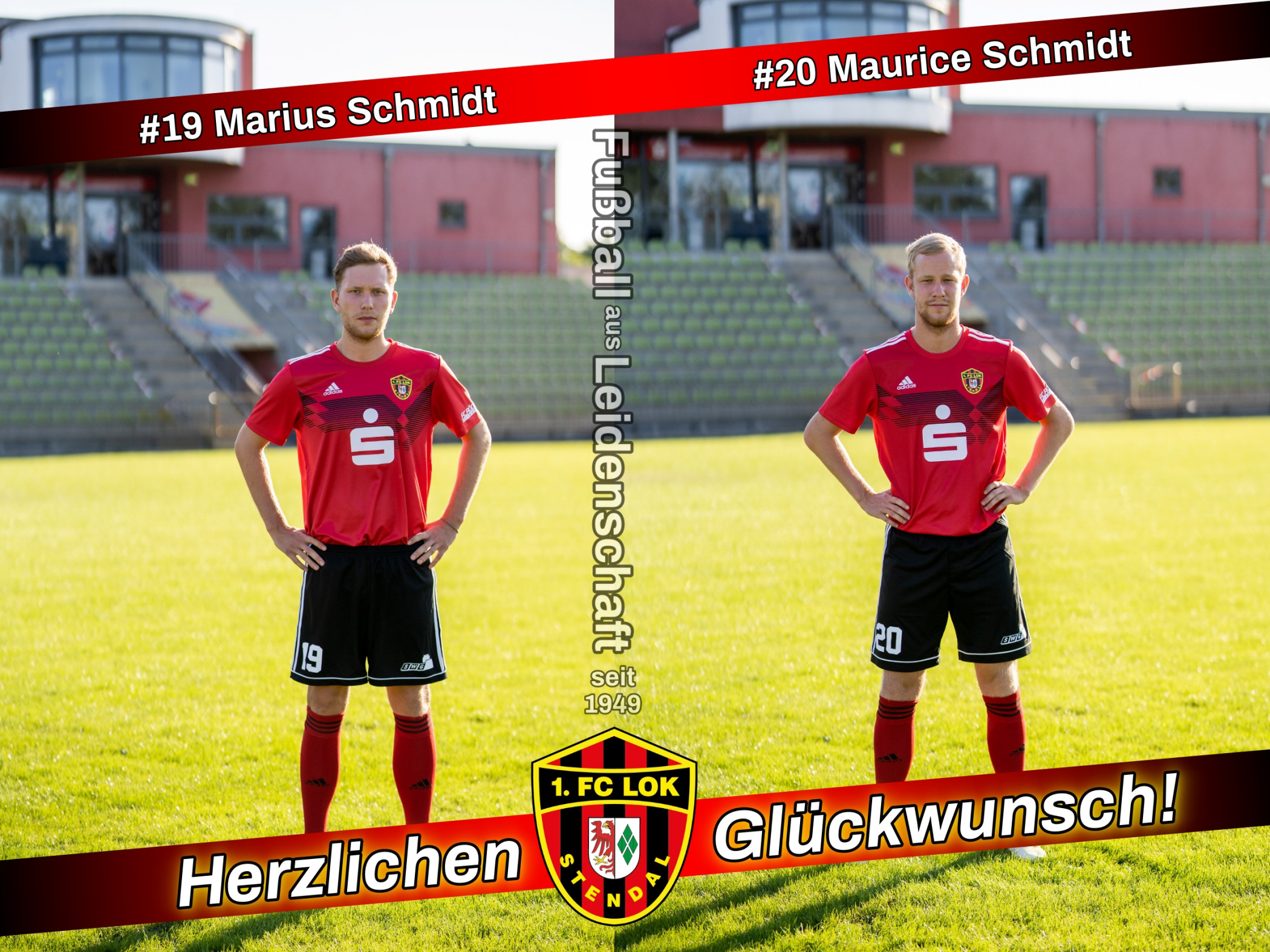 Happy Birthday Jungs! - 1. FC Lok Stendal