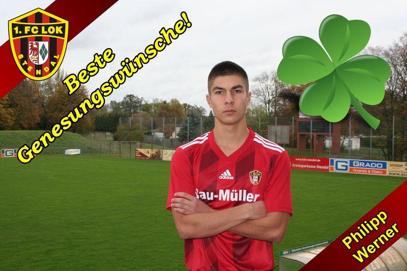 Gute Besserung! - 1. FC Lok Stendal