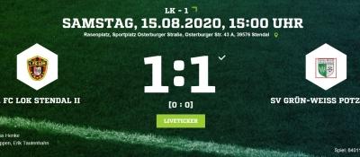 Landesklasse 1 ► 1. Spieltag