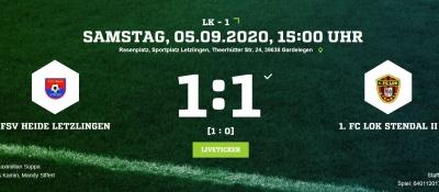 Landesklasse 1 ► 3. Spieltag