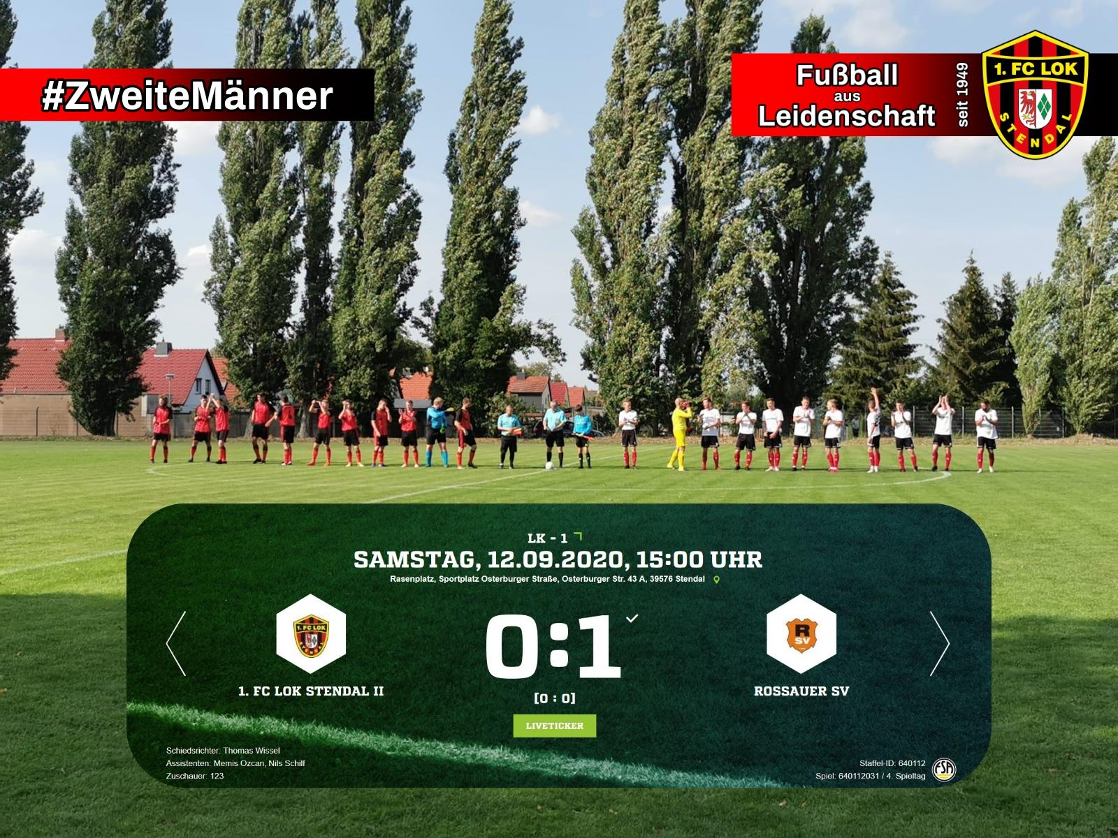 Landesklasse 1 ► 4. Spieltag - 1. FC Lok Stendal