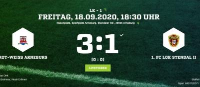 Landesklasse 1 ► 5. Spieltag
