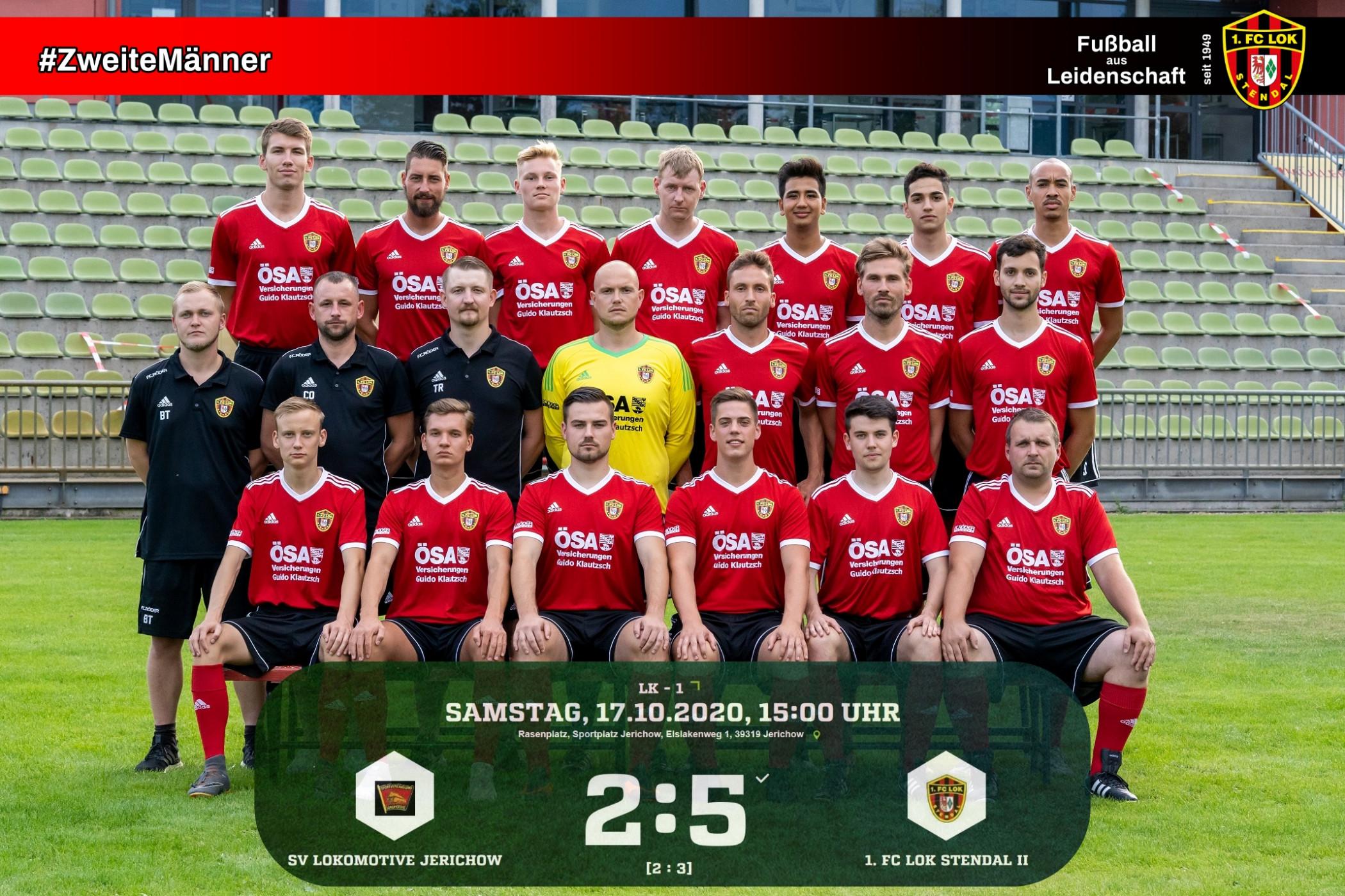 Landesklasse 1 ► 7. Spieltag - 1. FC Lok Stendal