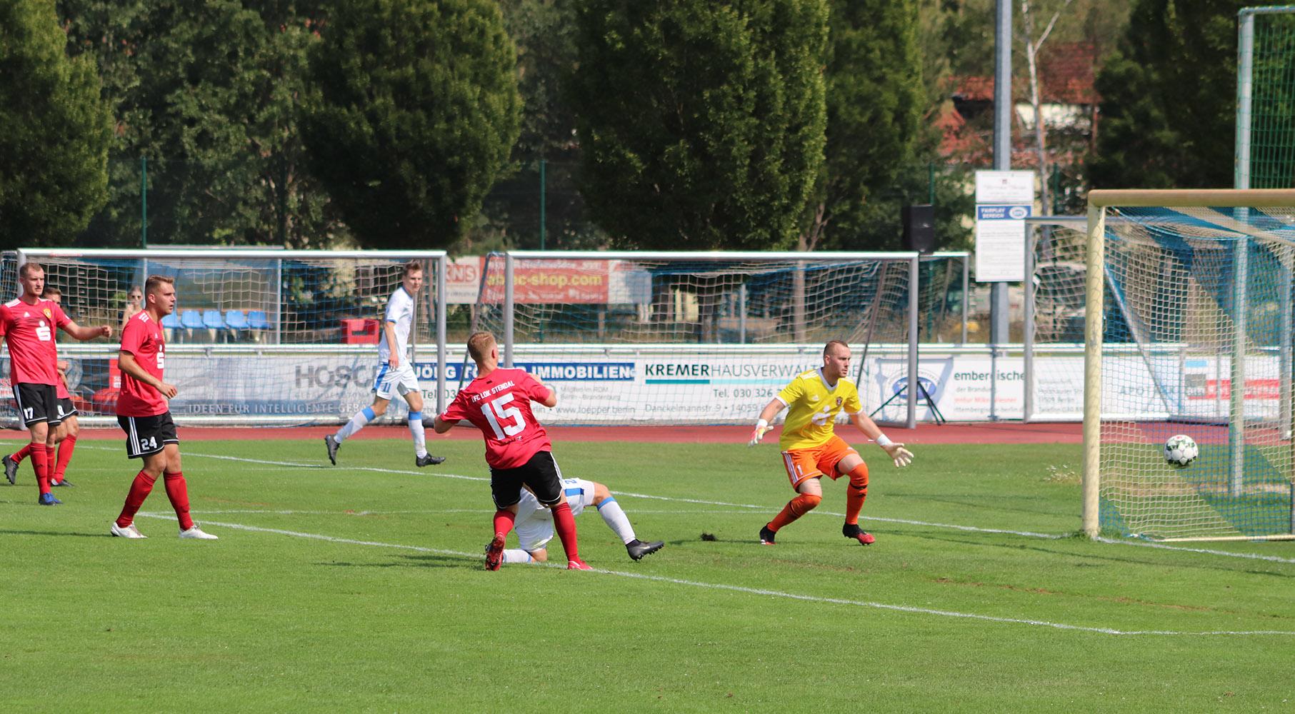 NOFV-Oberliga Nord ► 1. Spieltag - 1. FC Lok Stendal