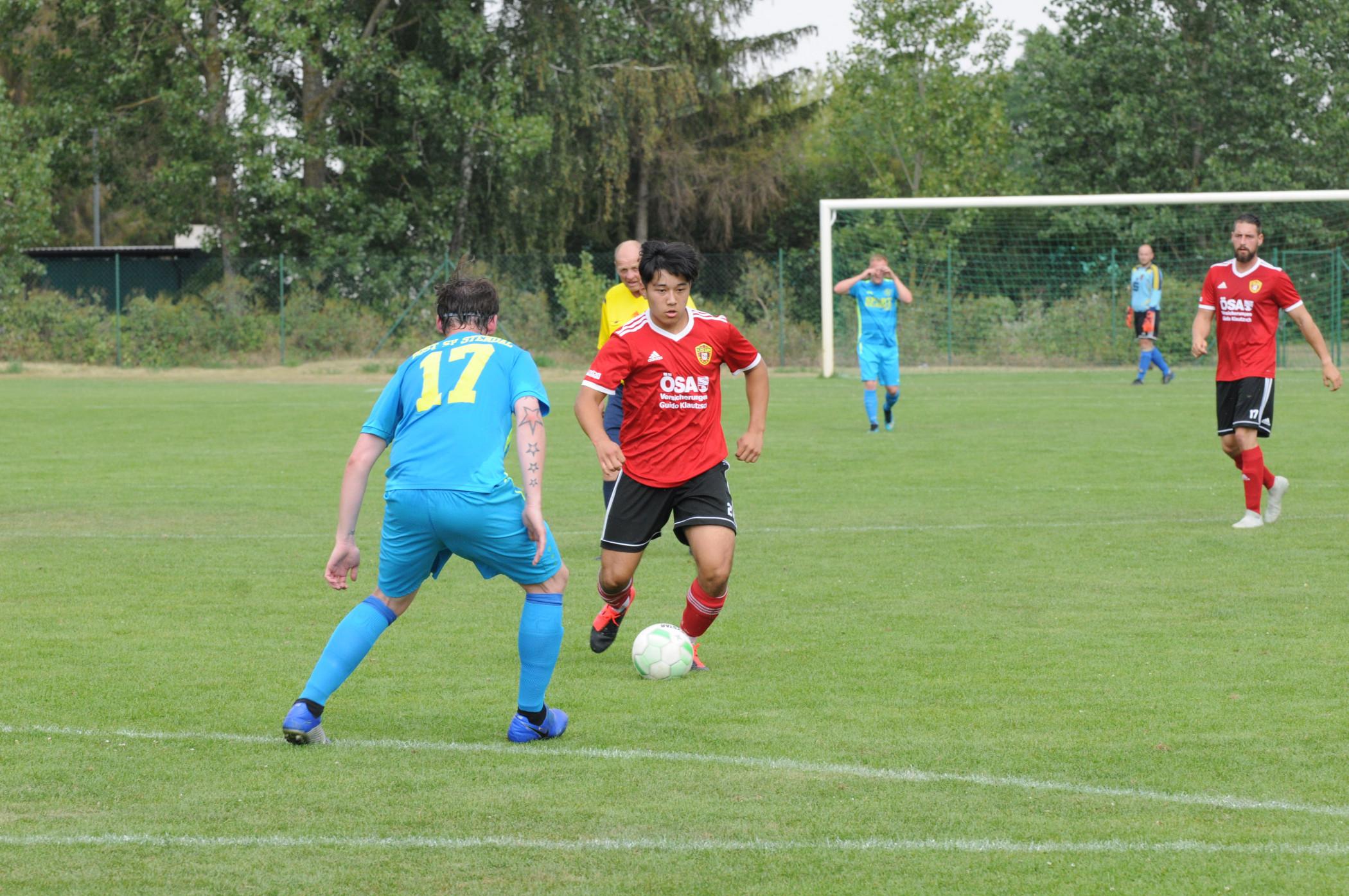 Testspiel #ZweiteMänner - 1. FC Lok Stendal