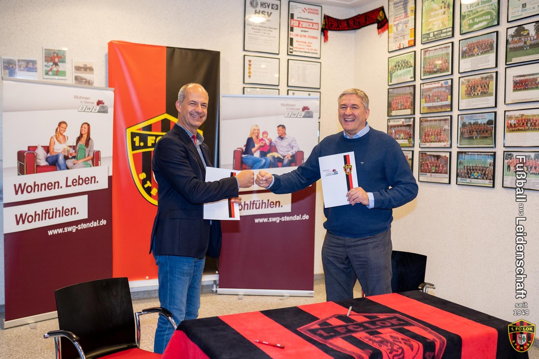 Weiteres Sponsoren-Engagement - 1. FC Lok Stendal