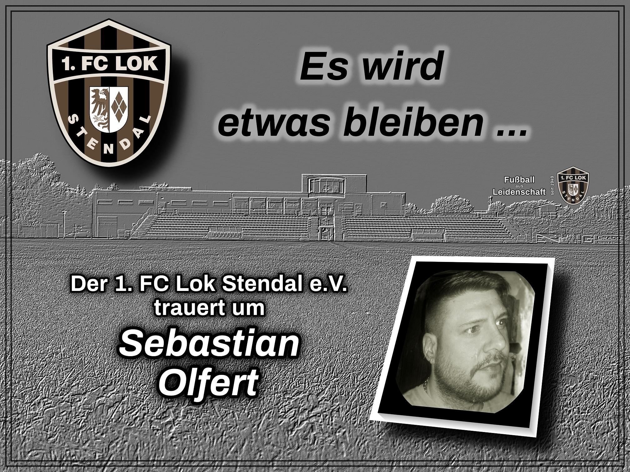 Wir trauern - 1. FC Lok Stendal