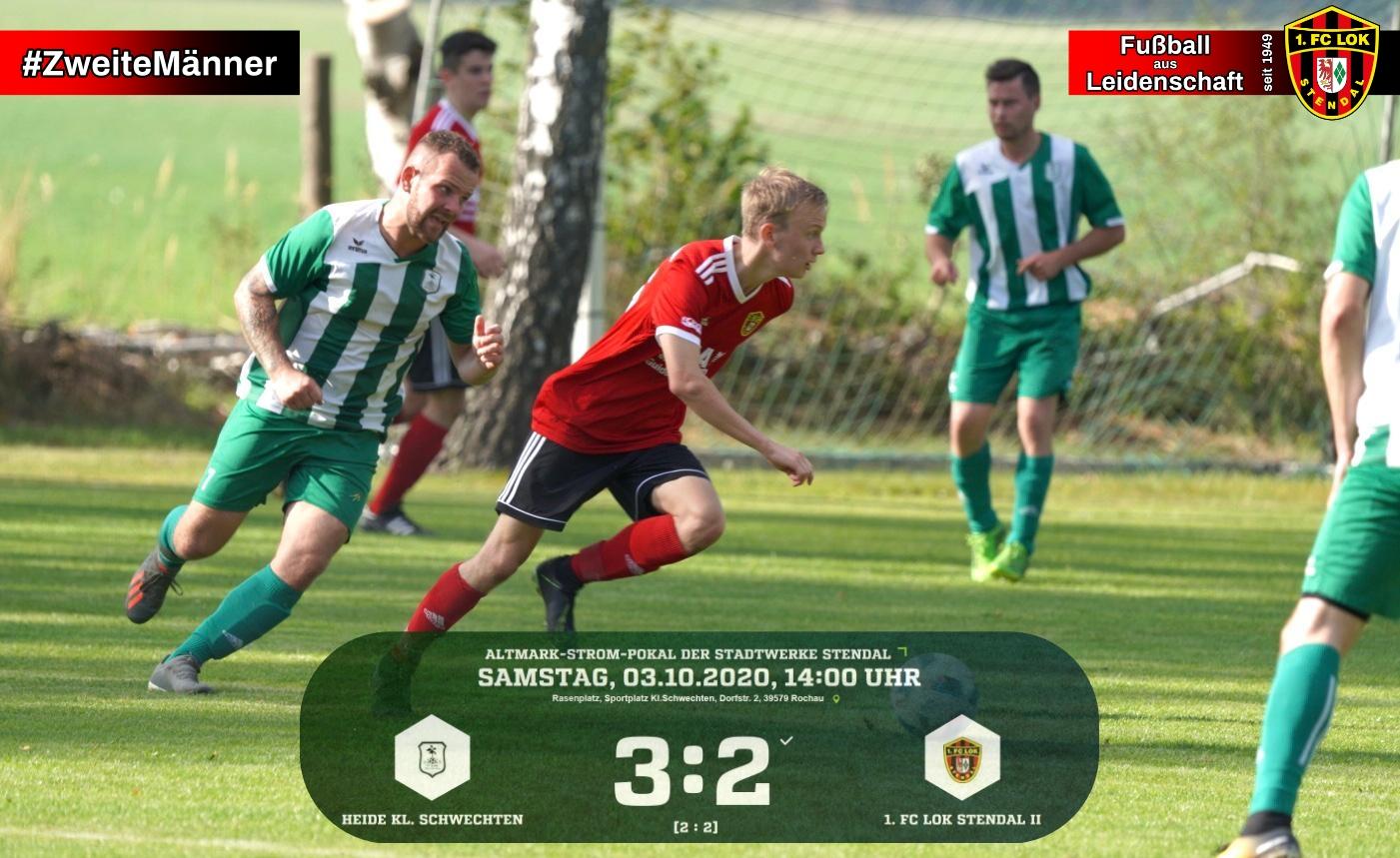 #ZweiteMänner ► Altmark-Strom-Pokal - 1. FC Lok Stendal